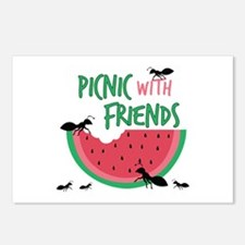 Picnic With Friends Postcards (Package of 8)