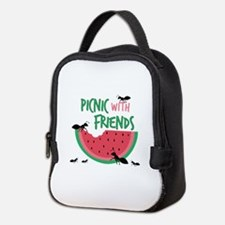 Picnic With Friends Neoprene Lunch Bag