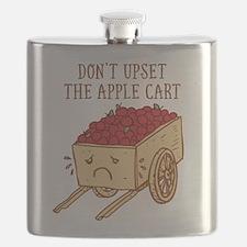 Don't Upset The Apple Cart Flask