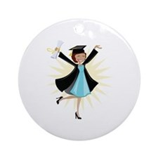 Graduate Ornament (Round)