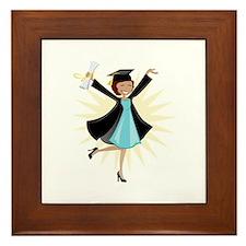 Graduate Framed Tile