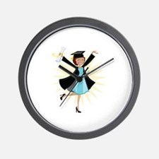 Graduate Wall Clock
