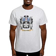 Fleuron Coat of Arms - Family Crest T-Shirt