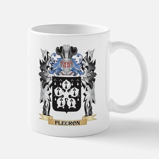 Fleuron Coat of Arms - Family Crest Mugs