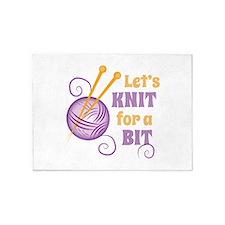 Knit A Bit 5'x7'Area Rug