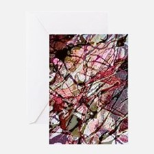 Funny Jackson pollock Greeting Card