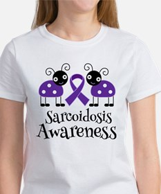 Sarcoidosis Awareness Ribbon T-Shirt
