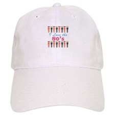 Love The 80s Baseball Baseball Cap