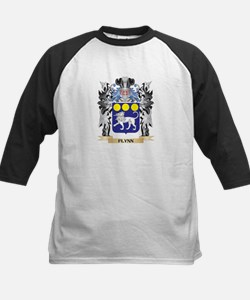 Flynn Coat of Arms - Family Crest Baseball Jersey