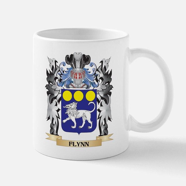 Flynn Coat of Arms - Family Crest Mugs