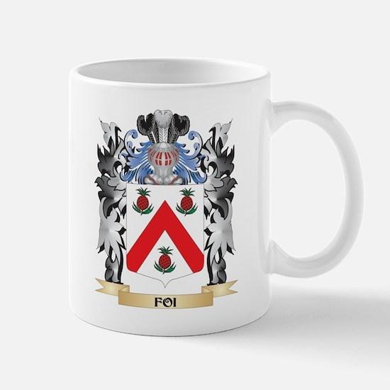 Foi Coat of Arms - Family Crest Mugs