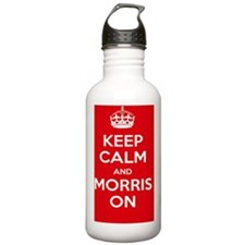 Keep Calm and Morris O Water Bottle