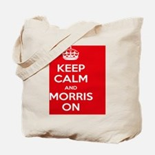 Keep Calm and Morris On Tote Bag