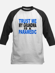 Trust Me My Grandma Is A Paramedic Baseball Jersey