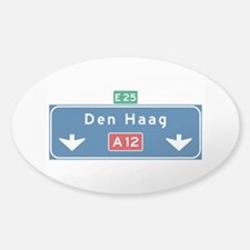 The Hague Roadmarker (NL) Decal