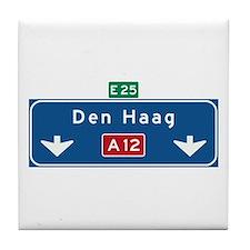 The Hague Roadmarker (NL) Tile Coaster