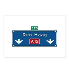 The Hague Roadmarker (NL) Postcards (Package of 8)