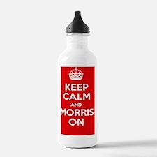 Morris Dancing Poster Water Bottle
