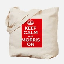 Morris Dancing Poster Tote Bag