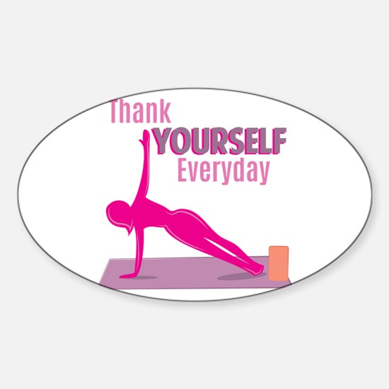 Thank Yourself Decal