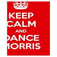 Morris Dancing Puzzel Poster