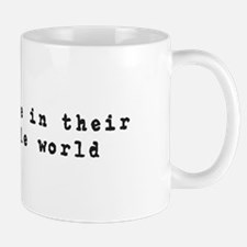 Writers Are In Their Own Little World Mugs