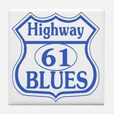 The Blues Highway US 61 Tile Coaster