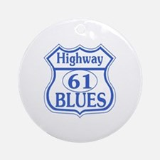 The Blues Highway US 61 Ornament (Round)