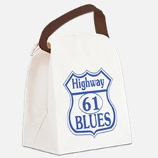 The Blues Highway US 61 Canvas Lunch Bag