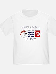 Nautical 1st Birthday T-Shirt