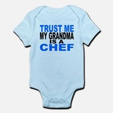 Trust Me My Grandma Is A Chef Body Suit