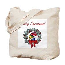 Mechanic Christmas Tote Bag