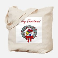 Mechanic Christmas Tote Bag