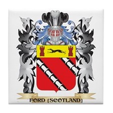 Ford-{Scotland} Coat of Arms - Family Tile Coaster