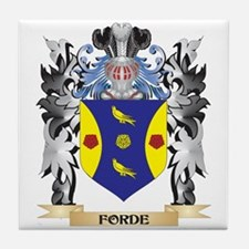 Forde- Coat of Arms - Family Crest Tile Coaster
