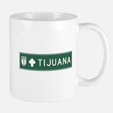 Tijuana Highway Sign (MX) Mug