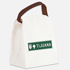 Tijuana Highway Sign (MX) Canvas Lunch Bag