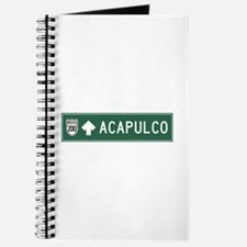Acapulco Highway Sign (MX) Journal
