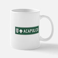 Acapulco Highway Sign (MX) Mug
