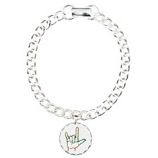 Abstract I Love You Bracelet