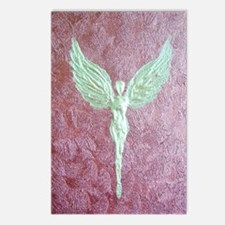 Golden Guardian Angel Postcards (Package of 8)