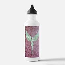 Golden Guardian Angel Water Bottle