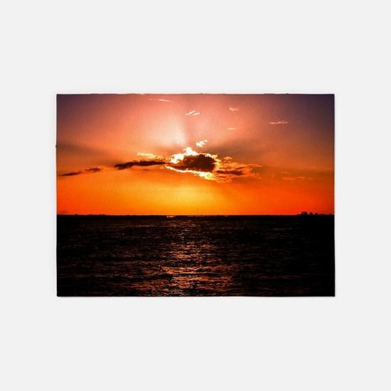 Sunset 5'x7'Area Rug