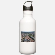 Federal Triangle Washi Water Bottle