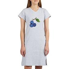 Blueberries Women's Nightshirt