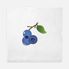 Blueberries Queen Duvet