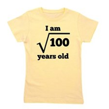 10th Birthday Square Root Girl's Tee