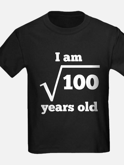 10th Birthday Square Root T-Shirt
