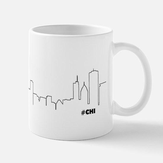 CHICAGO SKYLINE #CHI Mug