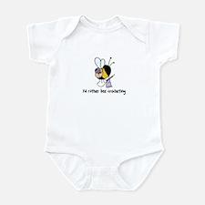 i'd rather bee crocheting Infant Bodysuit